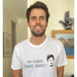 """T-shirt blanc """"AH OUAIS..."""