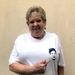 T-shirt blanc logo Danielle...